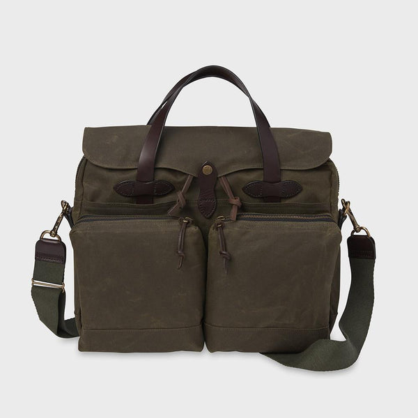 product: Filson 24 Hr Tin Briefcase Otter Green