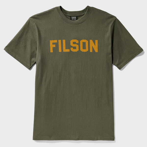 product: Filson Short Sleeve Outfiiter Graphic T Shirt Otter Green
