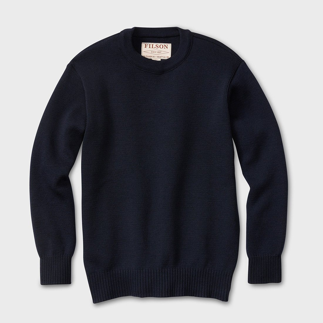 Filson Crew Guide Sweater Dark Navy