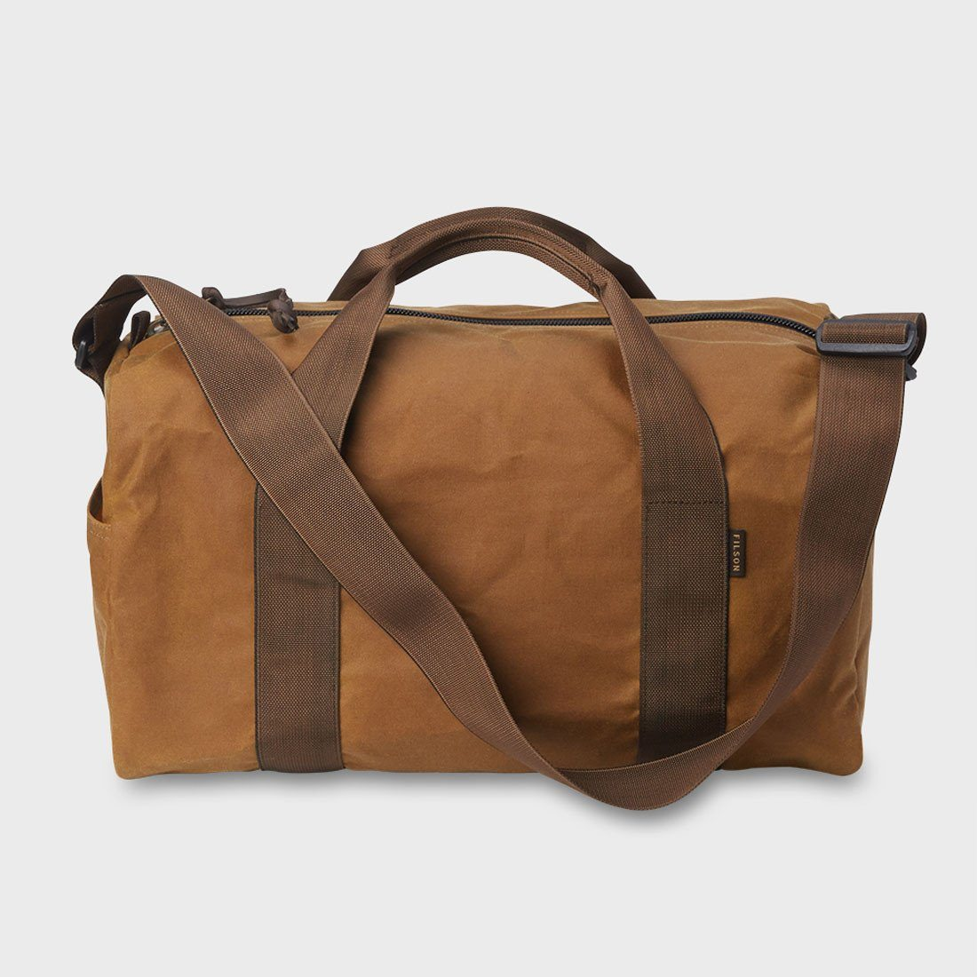 Filson Field Duffel Small Dark Tan