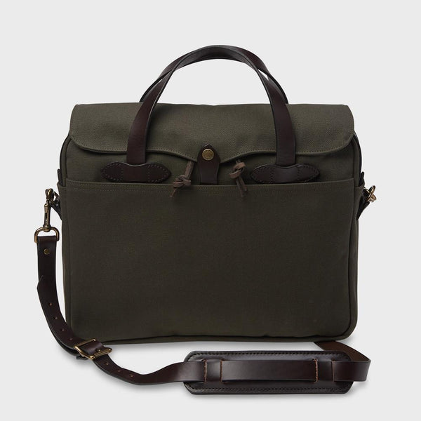 product: Filson Original Briefcase Otter Green