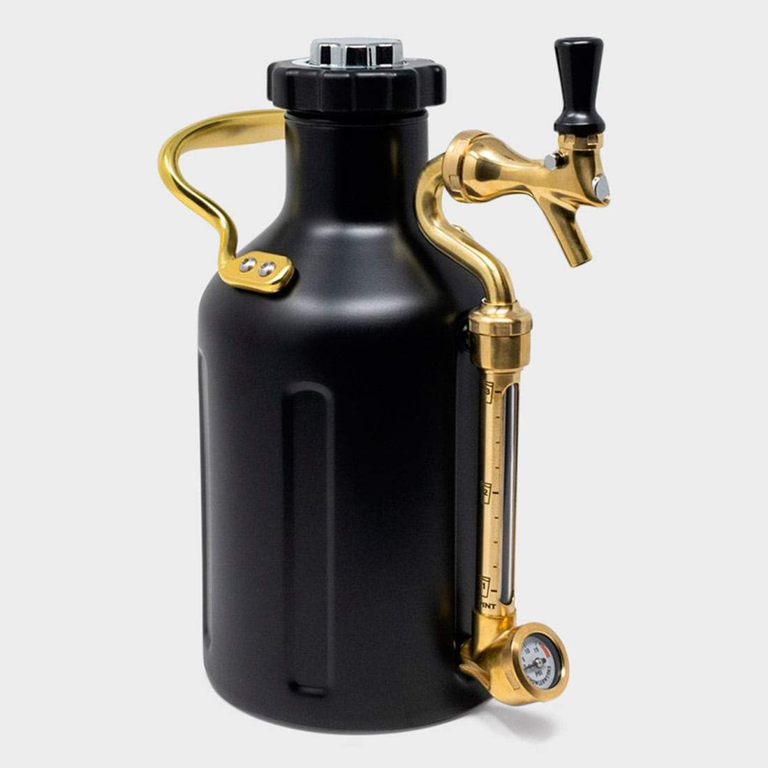 Growlerwerks Ukeg 64oz Black Matte