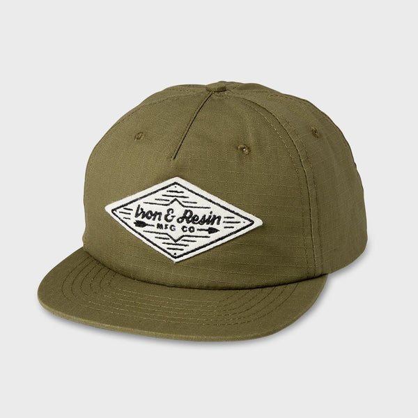 product: Iron & Resin Broken Arrow Hat Military
