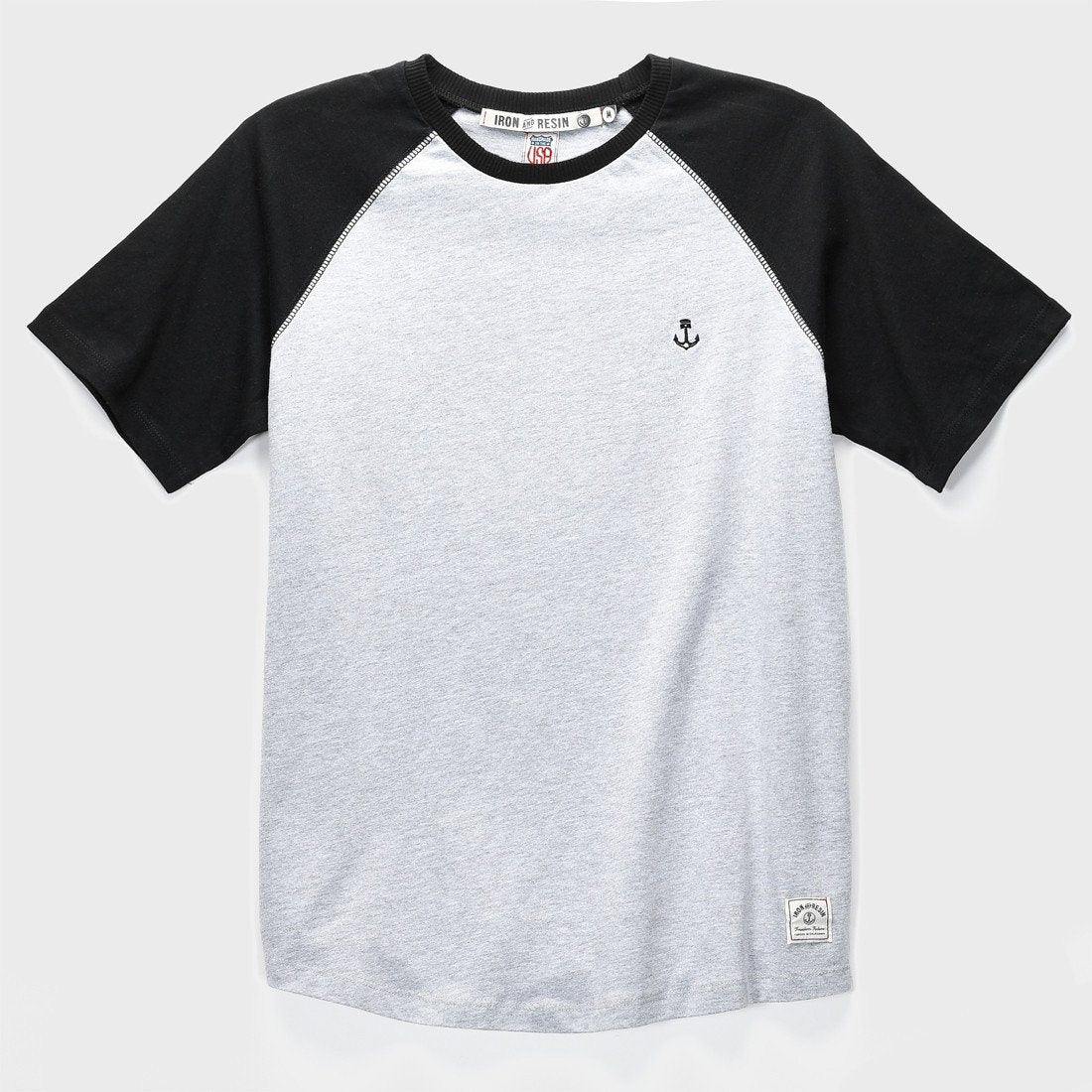 Iron & Resin Garvey T-shirt Heather Grey