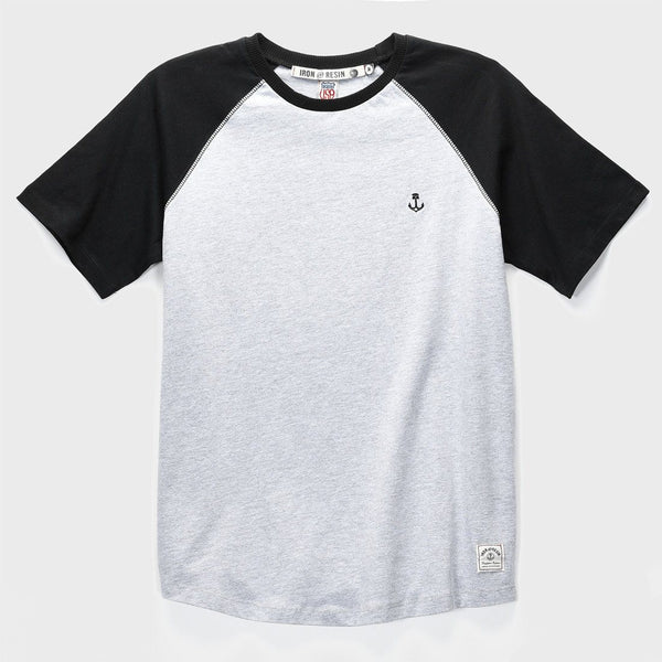 product: Iron & Resin Garvey Tee Heather Grey