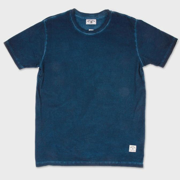 product: Iron & Resin Indigo Tide Tee Middle Indigo