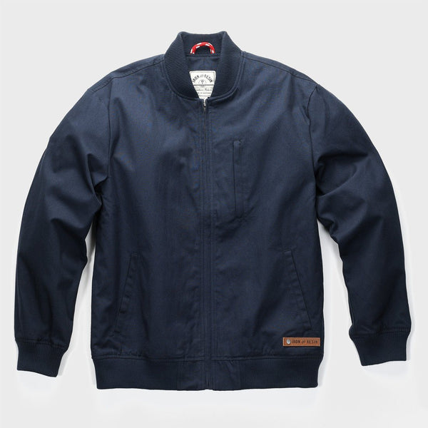 product: Iron & Resin Acadamy Bomber Jacket Navy