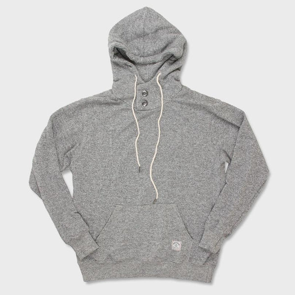 product: Iron & Resin Todos Santos Pullover Grey Heather