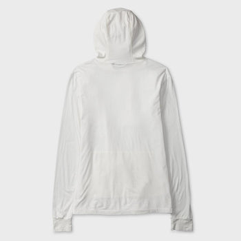 product: Jungmaven Jah Light Hooded Sweatshirt Washed White