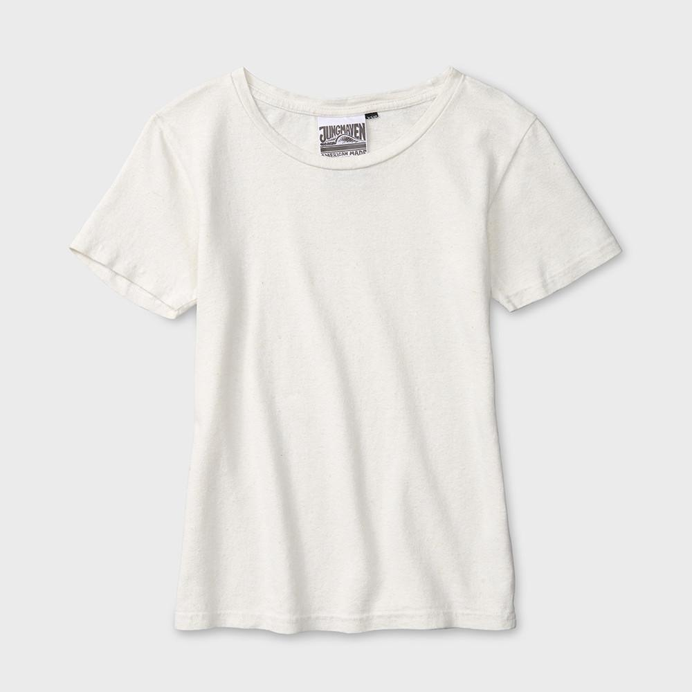 Jungmaven Baja S/S T-shirt 5 oz Washed White