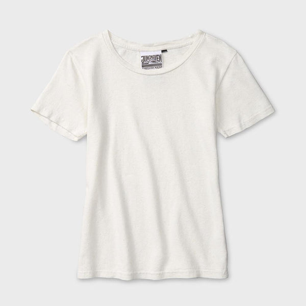 product: Jungmaven Baja S/S Tee 7 oz Washed White