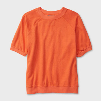 product: Jungmaven Short Sleeve Raglan 7 oz Pink Salmon