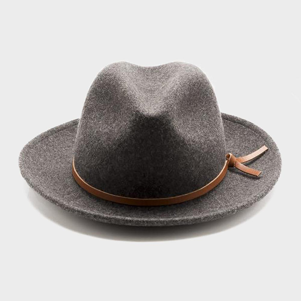 Yellow 108 Unisex Luke Fedora EJ Grey