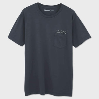 product: Mollusk Marianas T-shirt Faded Navy