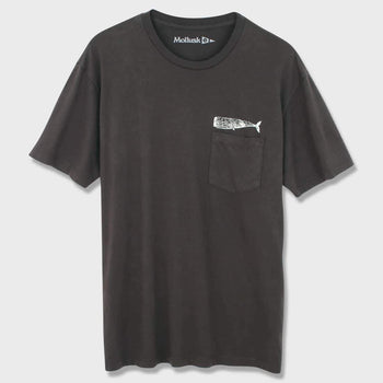 product: Mollusk Olde Whale T-shirt Faded Black