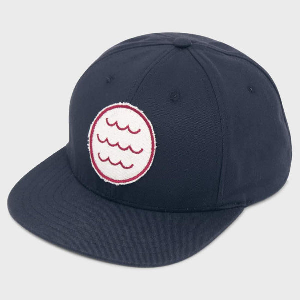 product: Mollusk Wave Patch Hat Navy