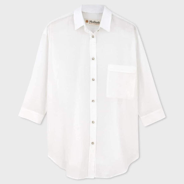 product: Mollusk Maggie Shirt White