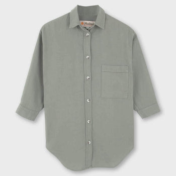 product: Mollusk Maggie Shirt Faded Marsh Green