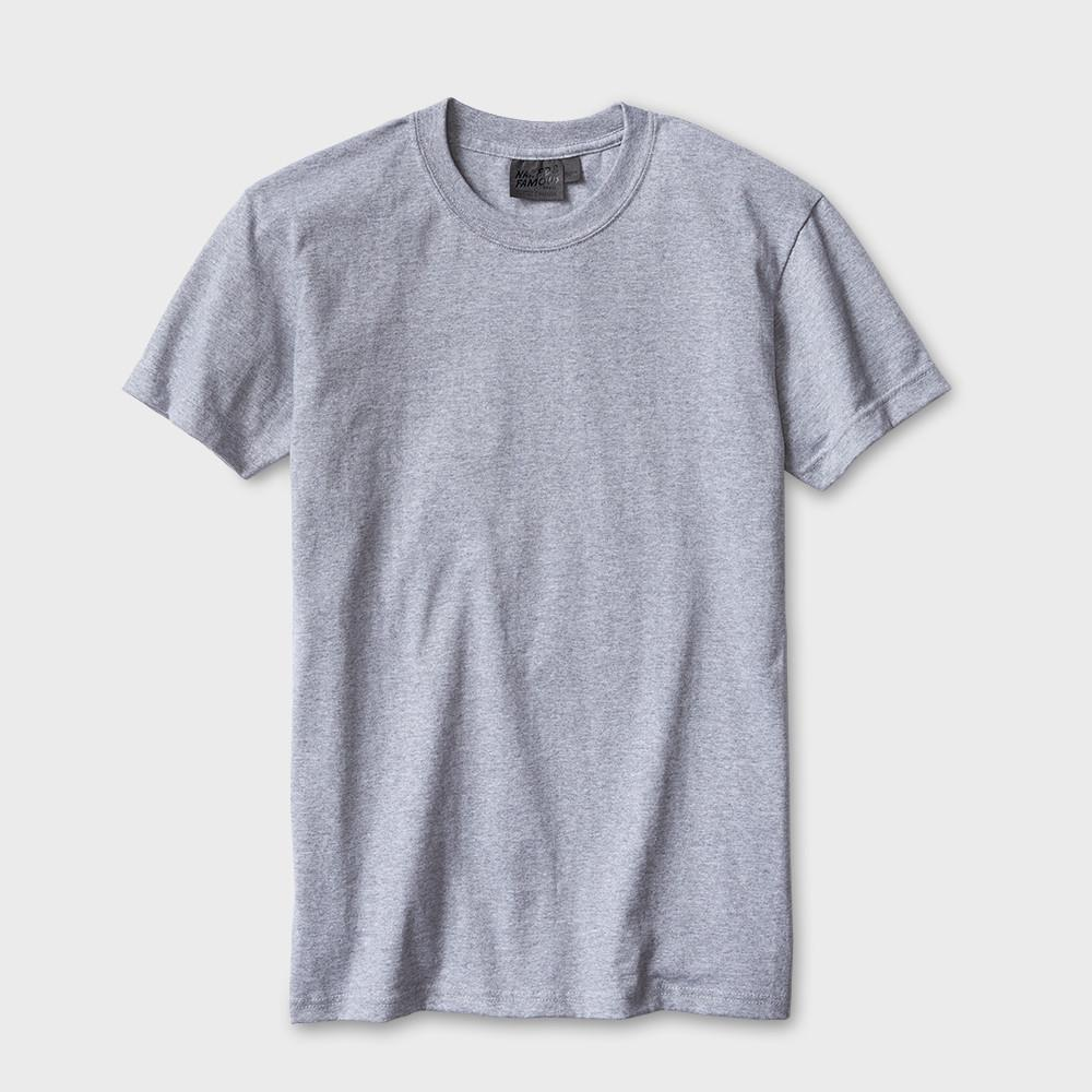 Naked & Famous Ringspun Cotton T-shirt Heather Grey