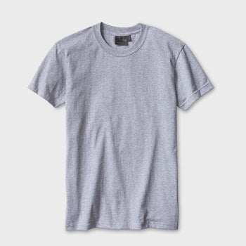 product: Naked & Famous Ringspun Cotton T-shirt Heather Grey
