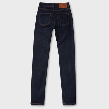 product: Naked & Famous Women's 11oz Stretch Selvage High Skinny Indigo
