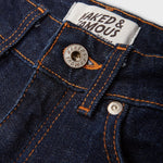 product: Naked & Famous 11oz Stretch Selvage High Skinny Indigo