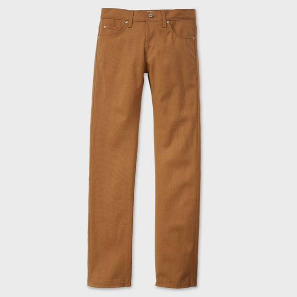 product: Naked & Famous Duck Canvas Selvedge Weird Guy Khaki