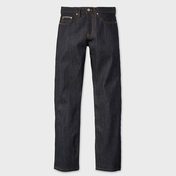 product: Naked & Famous Left Hand Twill Selvedge Weird Guy Indigo