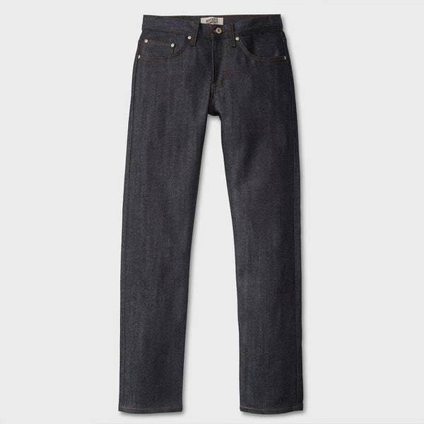 product: Naked & Famous Stretch Selvege Weird Guy Indigo