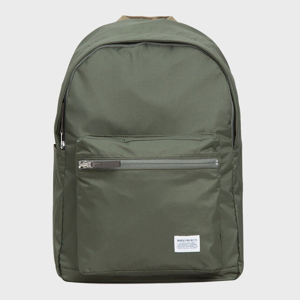 product: Norse Projects Louie Ripstop Backpack Dried Olive