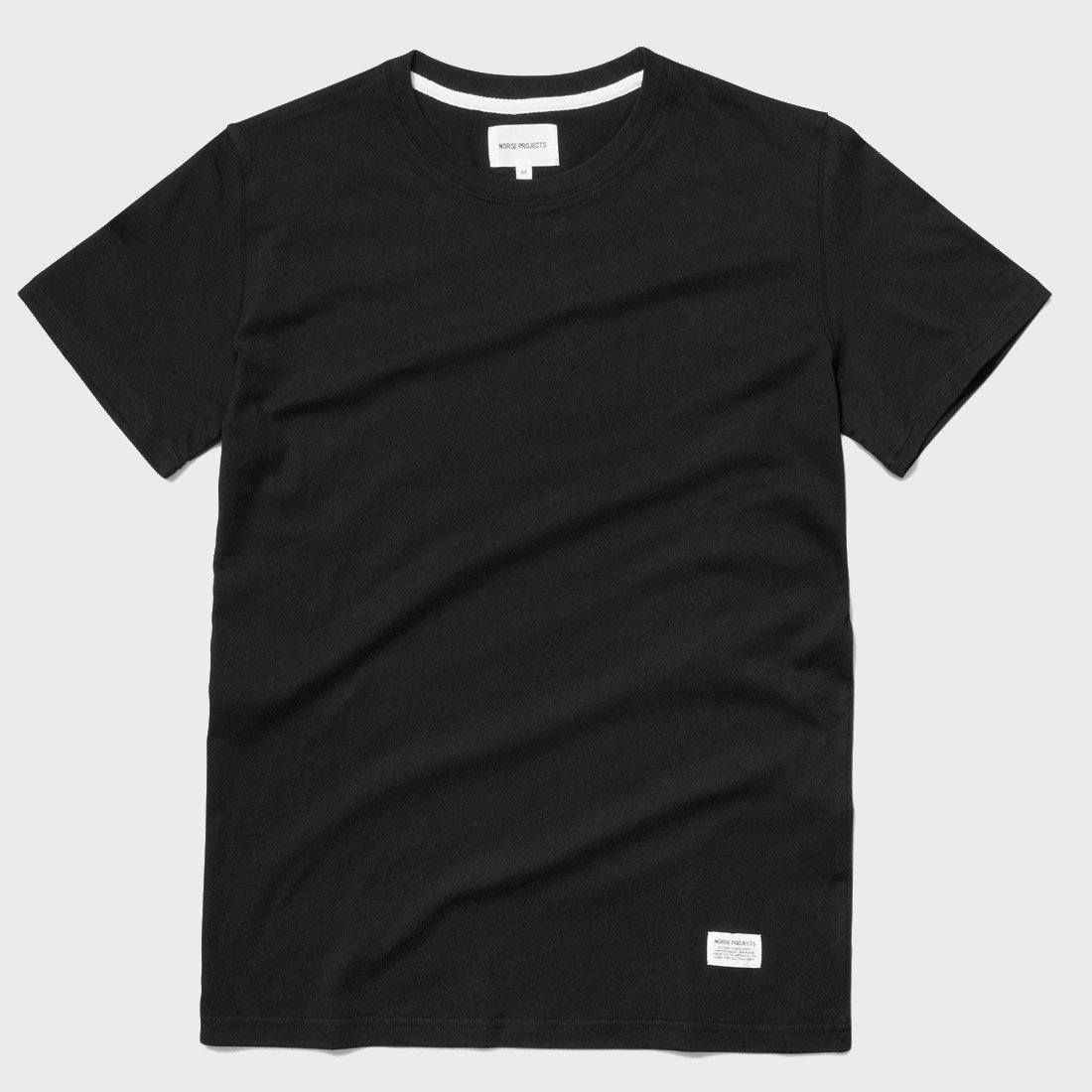 Norse Projects Niels Basic S/S T-shirt Black