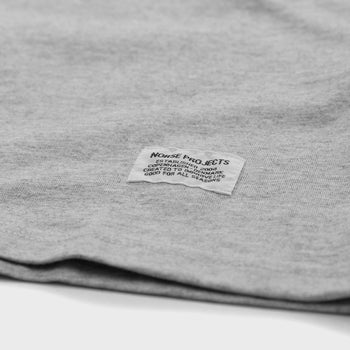product: Norse Projects Niels Basic S/S T-shirt Light Grey Melange