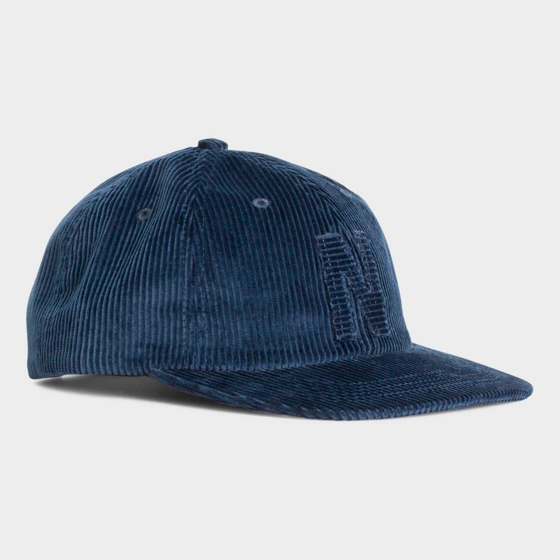 Norse Projects 6 Panel Corduroy Cap Petrol Blue – Wayward af1358e8e41