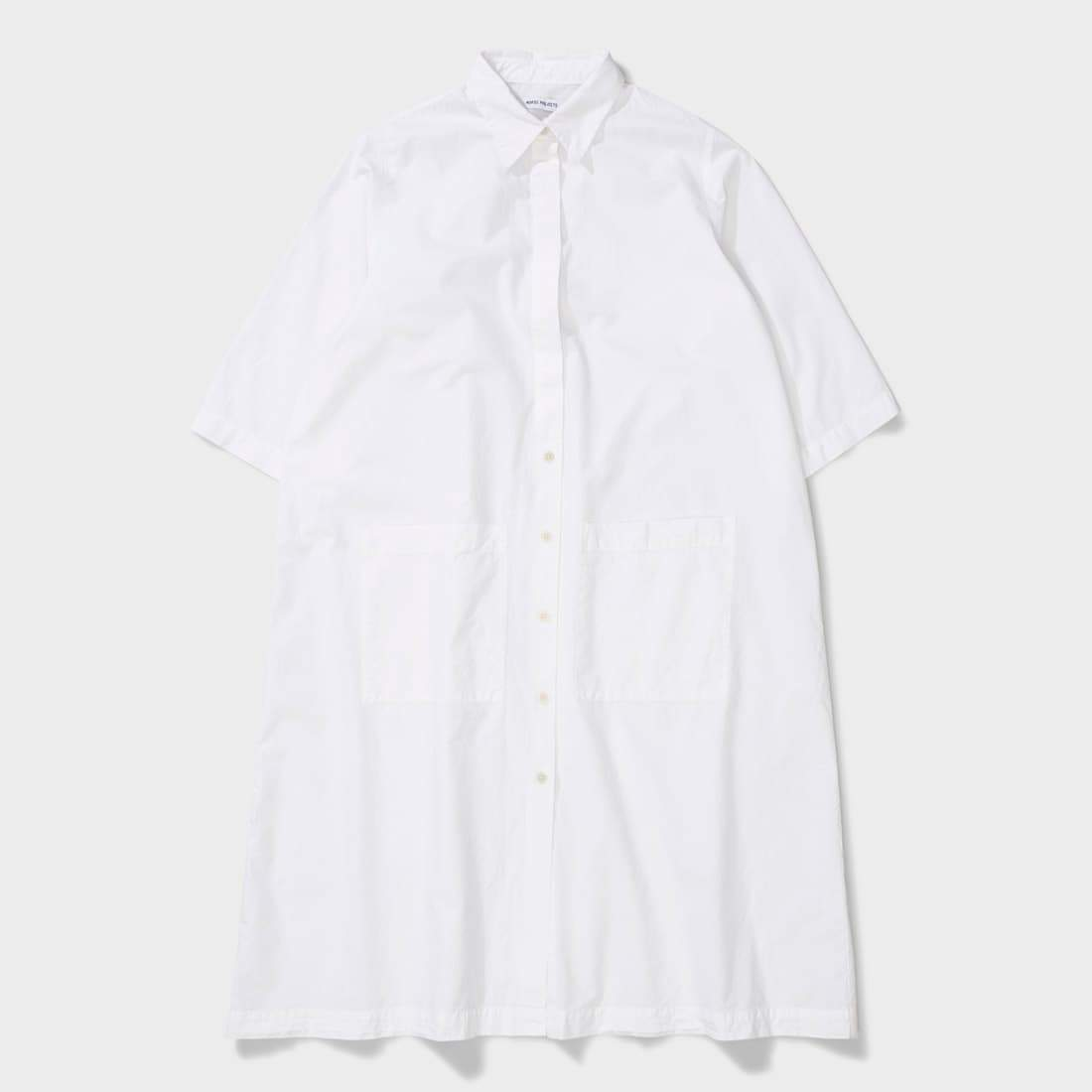 Norse Projects Andrea Cotton Poplin White