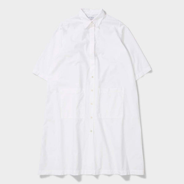 product: Norse Projects Andrea Cotton Poplin White
