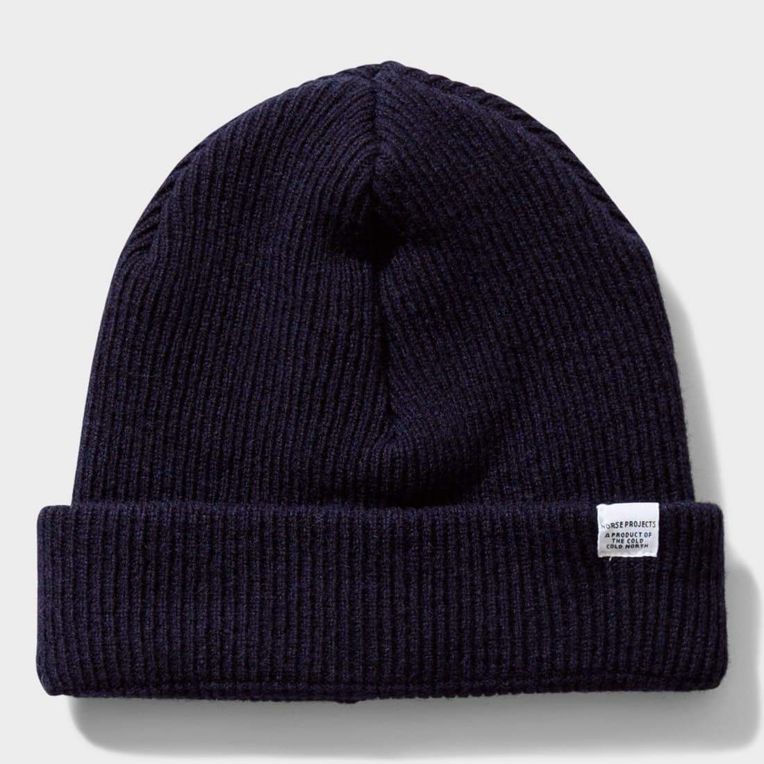 Norse Projects Norse Beanie Dark Navy
