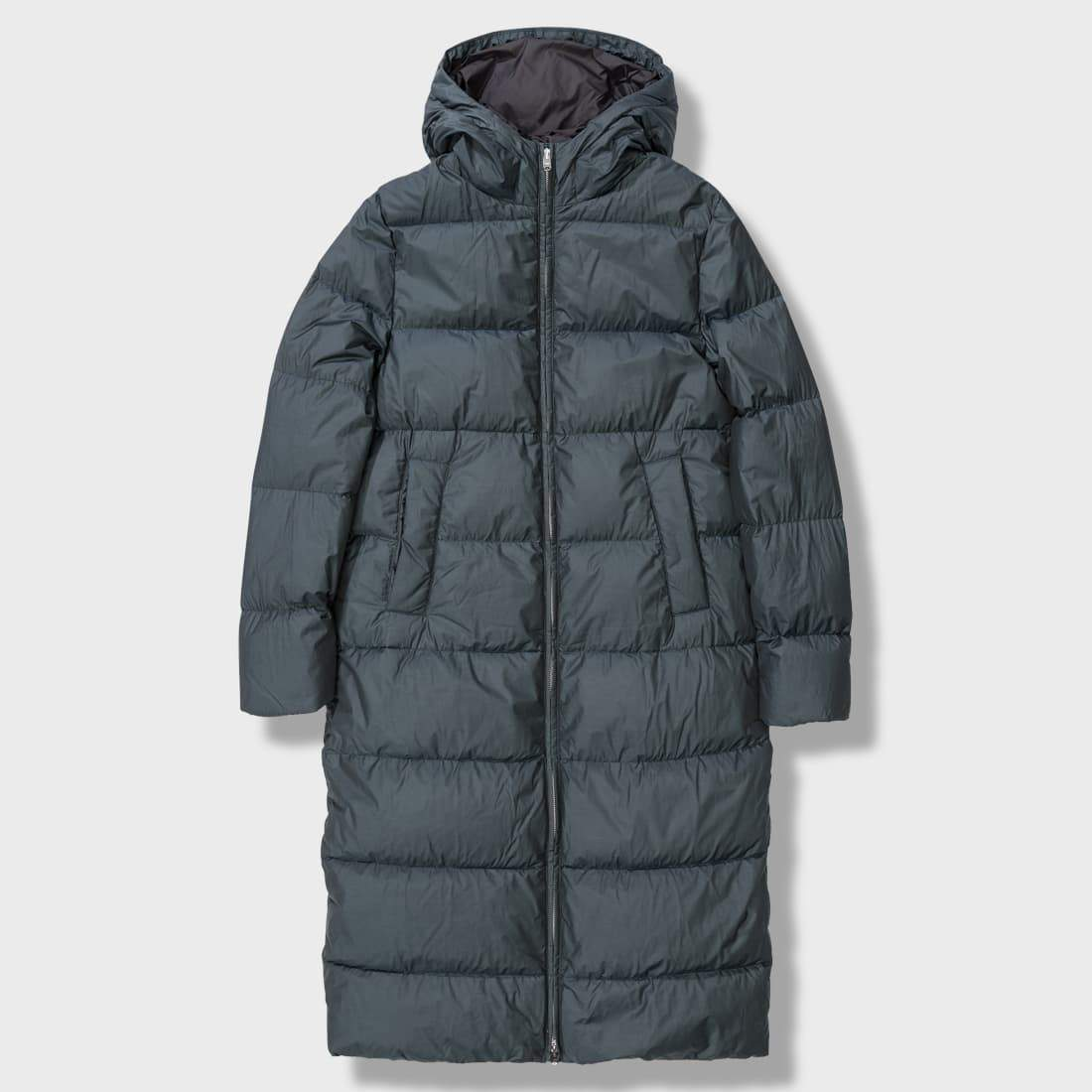Norse Projects Borga Down Jacket Long Moss Green