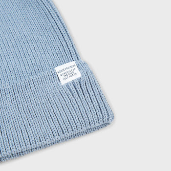 product: Norse Projects Cotton Watch Beanie Marginal Blue