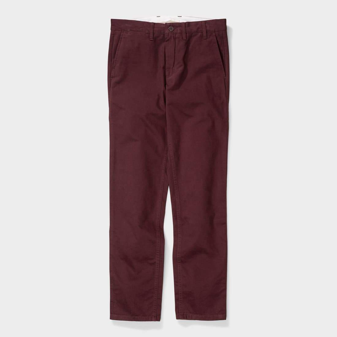 Norse Projects Aros Brushed Twill  Hermatite Red