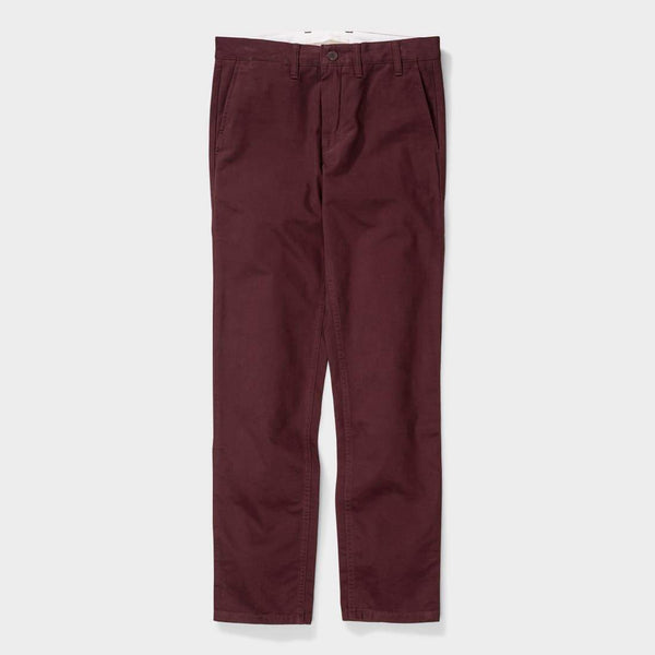 product: Norse Projects Aros Brushed Twill  Hermatite Red