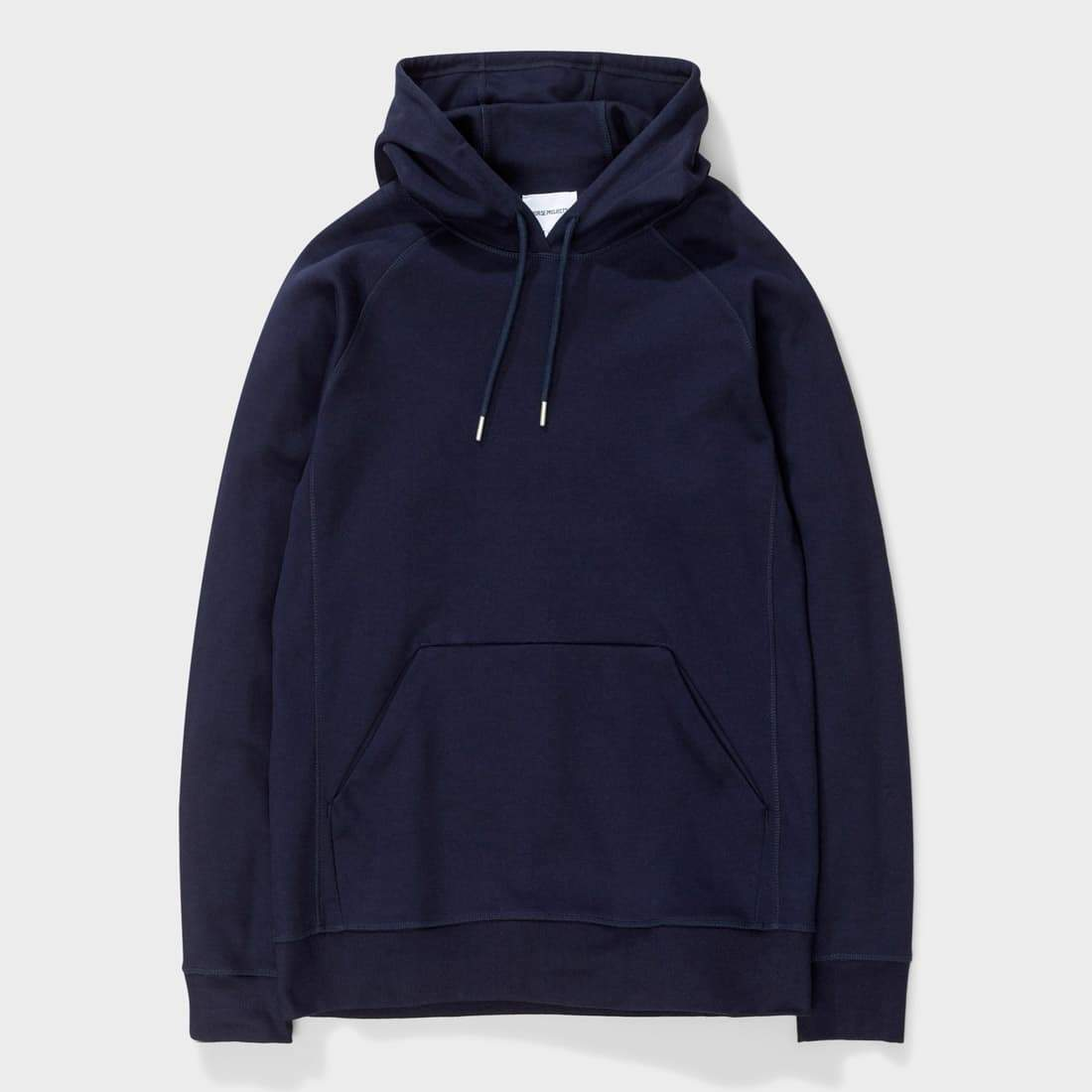 Norse Projects Ketel Dry Mercerized Hoody Navy