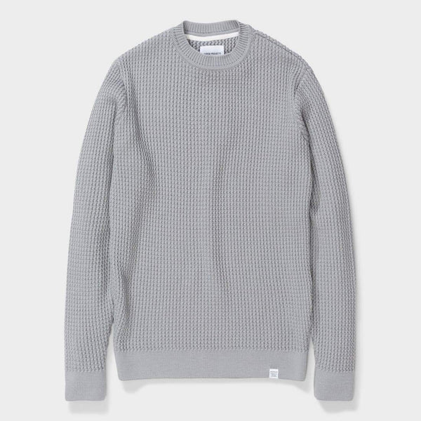product: Norse Projects Sigfred Merino Texture Titanium