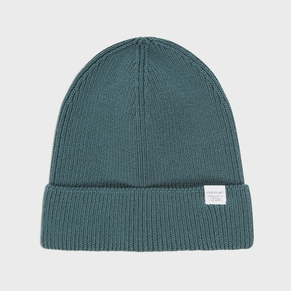 Norse Projects Cotton Watch Beanie Verge Green