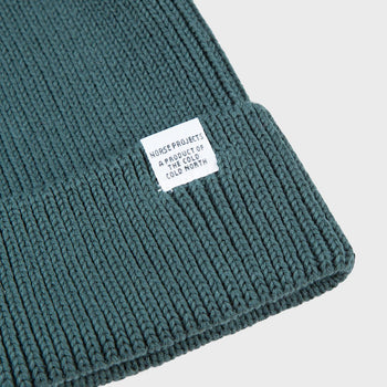 product: Norse Projects Cotton Watch Beanie Verge Green
