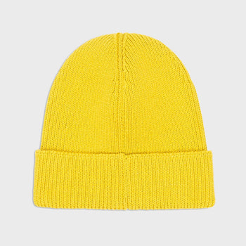 product: Norse Projects Cotton Watch Beanie Edge Yellow