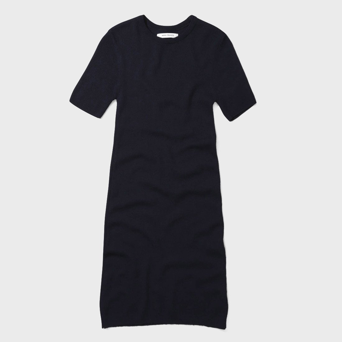 Norse Projects Gyda Merino Dress Dark Navy