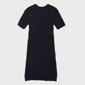 product: Norse Projects Gyda Merino Dress Dark Navy