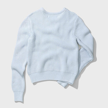 product: Norse Projects Helle Cotton Sweater Pale Blue