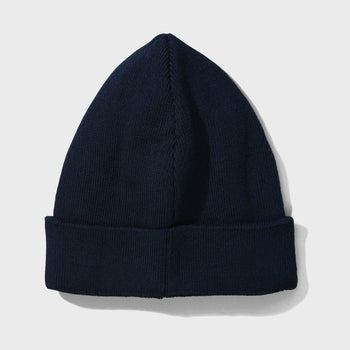 product: Norse Projects Mya Cotton Beanie Dark Navy