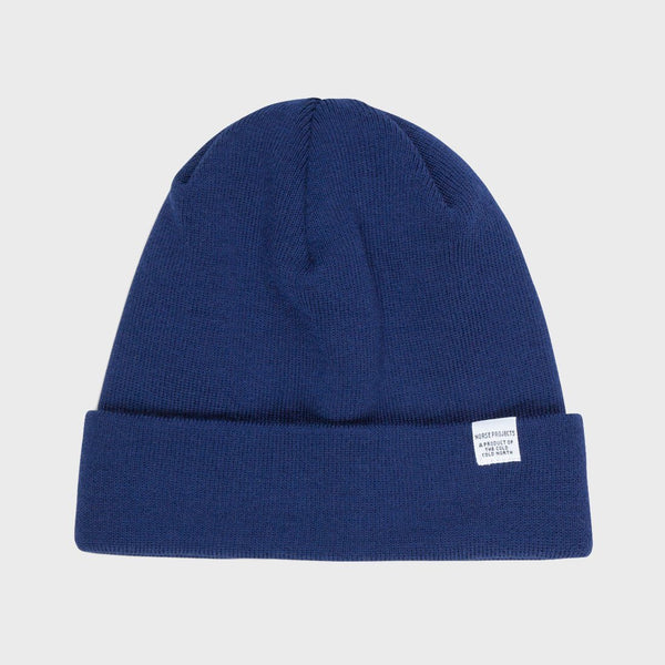 product: Norse Projects Top Beanie Blue
